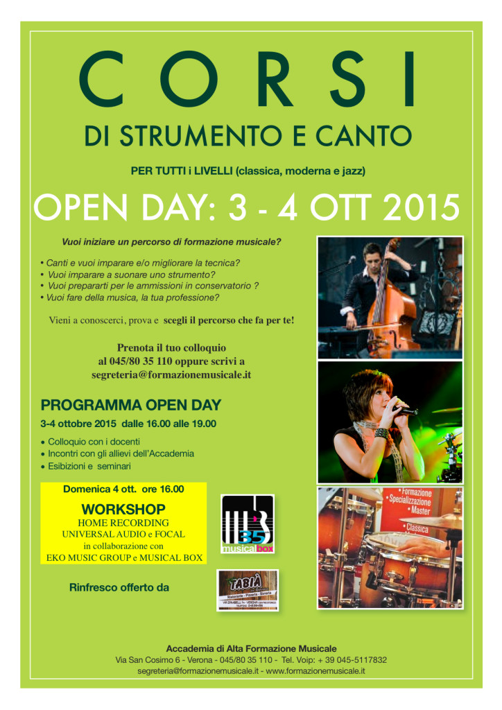 open day 2015 DEF1