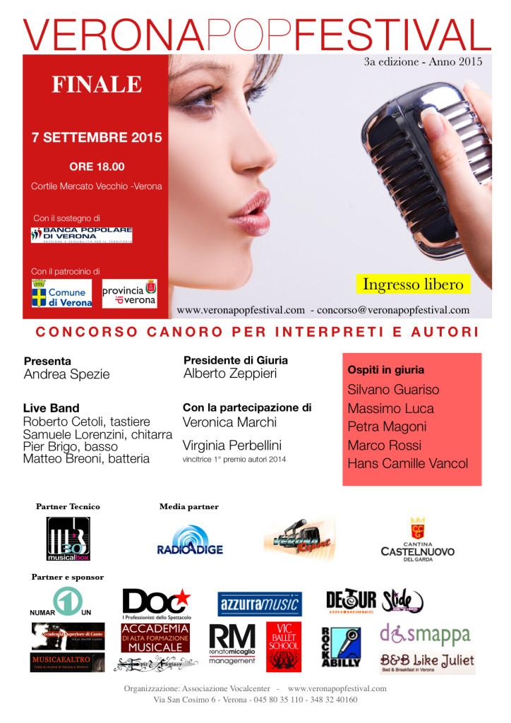 verona pop festival locandina invito 2015